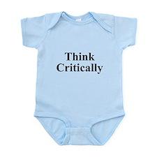 Think Critically Infant Bodysuit