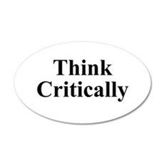 Think Critically Wall Decal