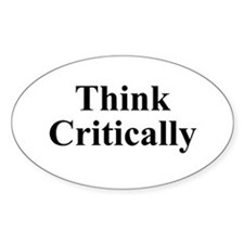 Think Critically Decal