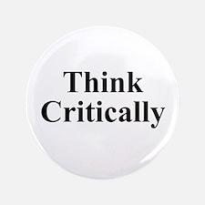 "Think Critically 3.5"" Button"