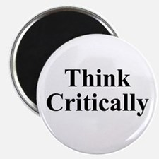 """Think Critically 2.25"""" Magnet (100 pack)"""