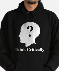 Think Critically Logo Hoodie