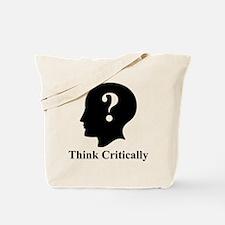 Think Critically Logo Tote Bag