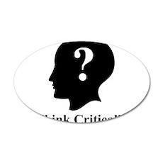 Think Critically Logo Wall Decal