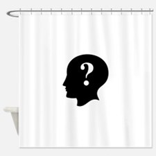 Front Logo Shower Curtain