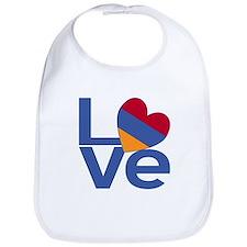 Blue Armenia LOVE Bib