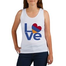 Blue Armenia LOVE Tank Top