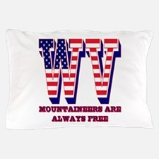 West Virginia WV Mountaineers are allw Pillow Case