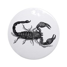 African Scorpion Ornament (Round)