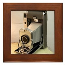 Vintage Camera Framed Tile