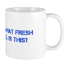 Oh what fresh hell is this-Cap blue Mugs