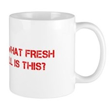 Oh what fresh hell is this-Cap red Mugs