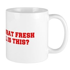 Oh what fresh hell is this-Fre red Mugs