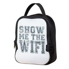 Show me the WIFI Neoprene Lunch Bag