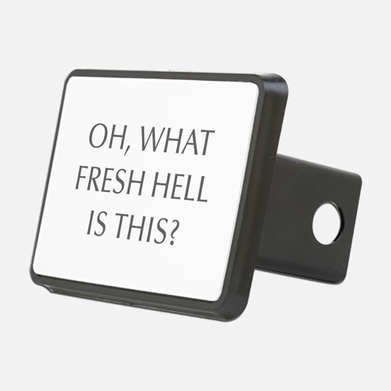 Oh what fresh hell is this-Opt gray Hitch Cover