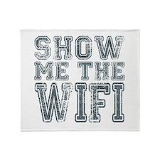 Show me the WIFI Throw Blanket