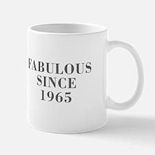 fabulous since 1965-Bod gray Mugs