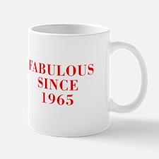 fabulous since 1965-Bod red Mugs