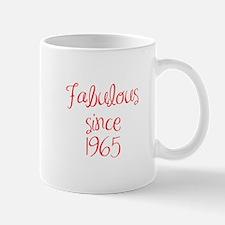 fabulous since 1965-MAS red Mugs