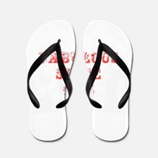 fabulous since 1965-Max red Flip Flops