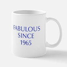 fabulous since 1965-Opt blue Mugs