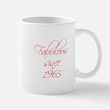 fabulous since 1965-Scr red Mugs