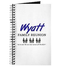 Wyatt Family Reunion Journal