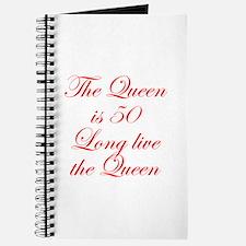 Queen is 50-Edw red Journal