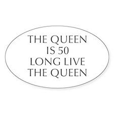 Queen is 50-Opt gray Decal