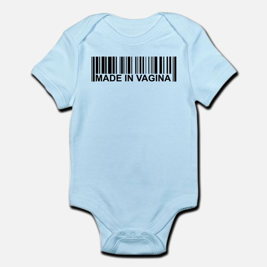 Made in Vagina Body Suit
