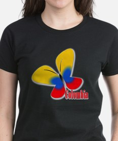 Cute Colombian Butterfly Tee
