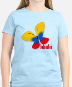 Cute Colombian Butterfly T-Shirt