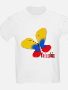 Cute Colombian Butterfly T-Shirt
