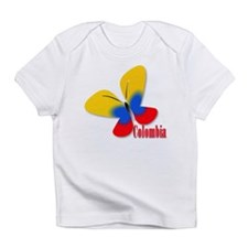 Cute Colombian Butterfly Infant T-Shirt