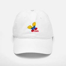 Cute Colombian Butterfly Baseball Baseball Cap
