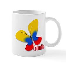 Cute Colombian Butterfly Mug