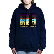 Videodrome Civic TV Women's Hooded Sweatshirt