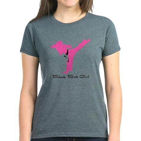 Karate Martial Arts Women's Dark T-Shirt