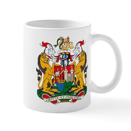 Bristol City Coat of Arms Mug
