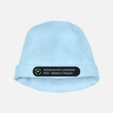 Master's Degree - Achievement unlocked baby hat