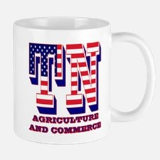 Tennessee TN Agriculture and Commerce Mug