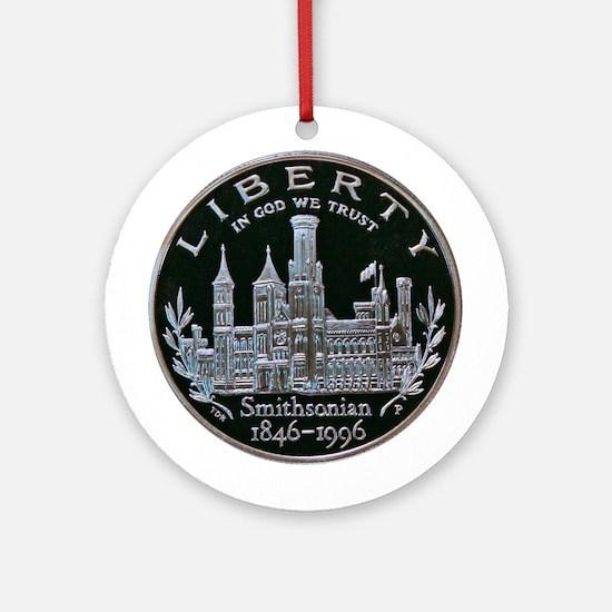 Smithsonian Dollar Coin Ornament (Round)