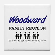 Woodward Family Reunion Tile Coaster