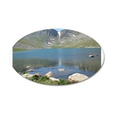Summit Lake Mt. Evans 2 Wall Decal