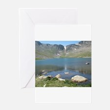 Summit Lake Mt. Evans 2 Greeting Cards
