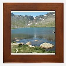 Summit Lake Mt. Evans 2 Framed Tile