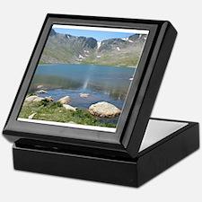 Summit Lake Mt. Evans 2 Keepsake Box