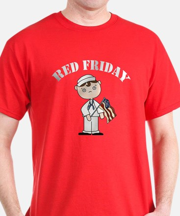 Red Friday Navy T-Shirt