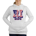 Rhode Island RI Hope Women's Hooded Sweatshirt