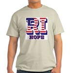 Rhode Island RI Hope Light T-Shirt